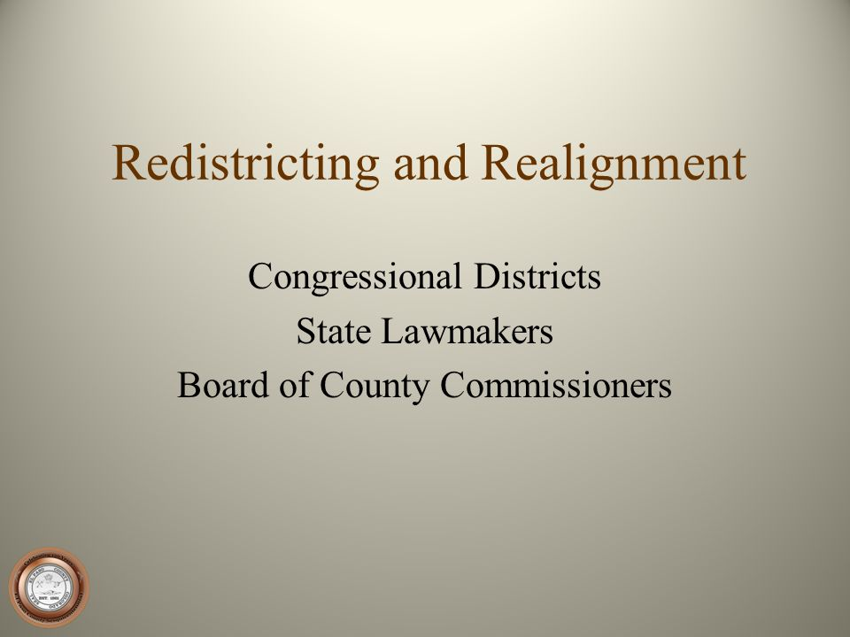 Redistricting and Realignment