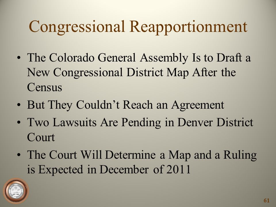 Congressional Reapportionment