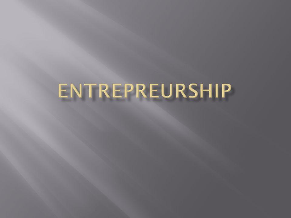Entrepreurship