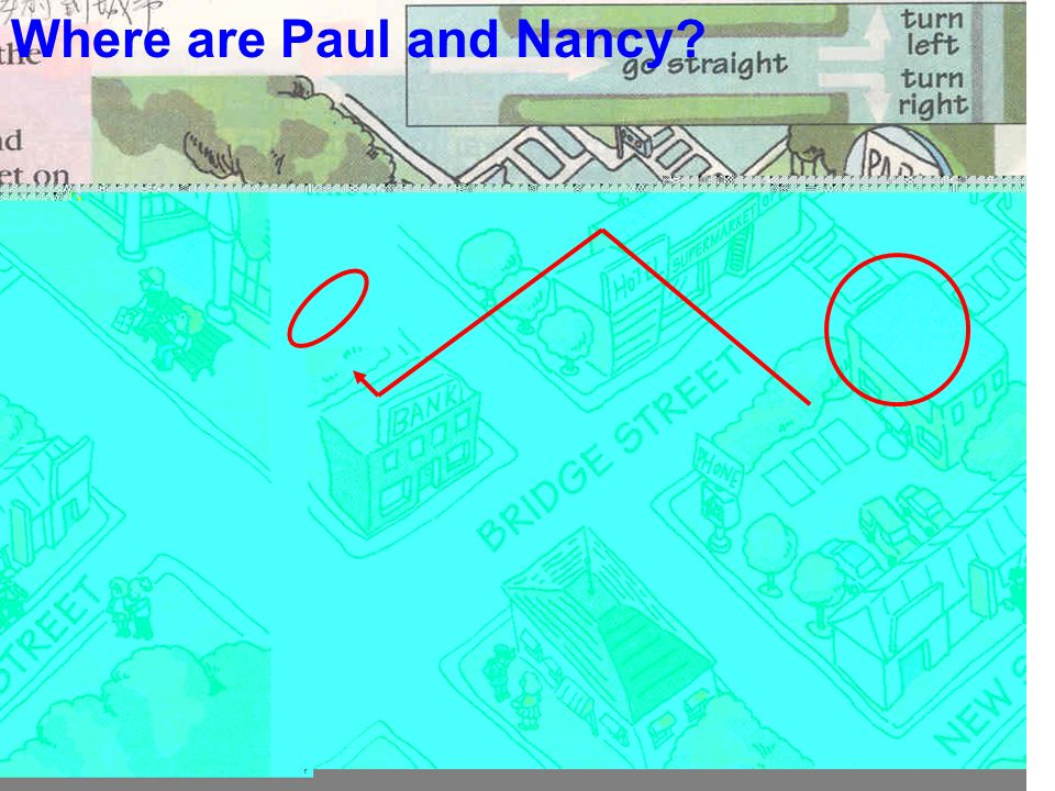 Where are Paul and Nancy