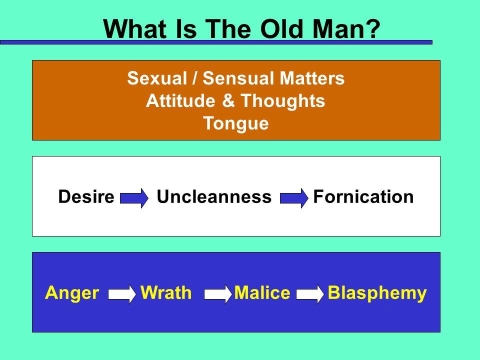 Sexual / Sensual Matters
