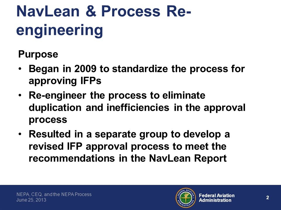 NavLean & Process Re-engineering