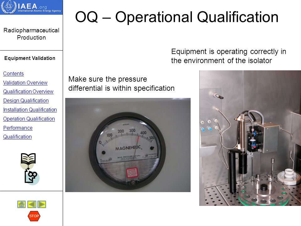 OQ – Operational Qualification