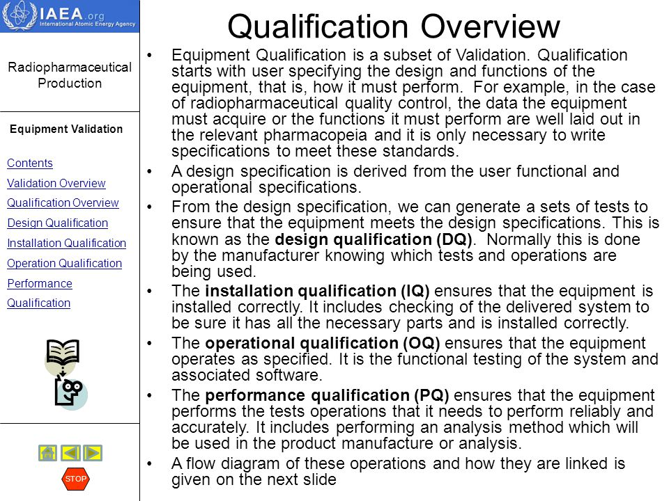 Qualification Overview