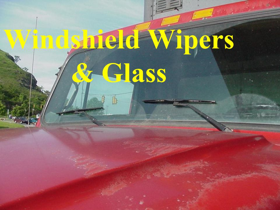 Windshield Wipers & Glass
