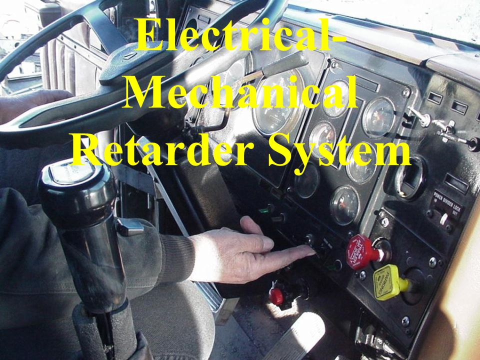 Electrical-Mechanical Retarder System