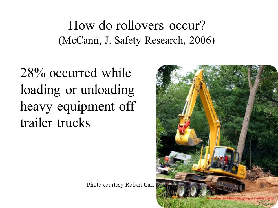 How do rollovers occur (McCann, J. Safety Research, 2006)