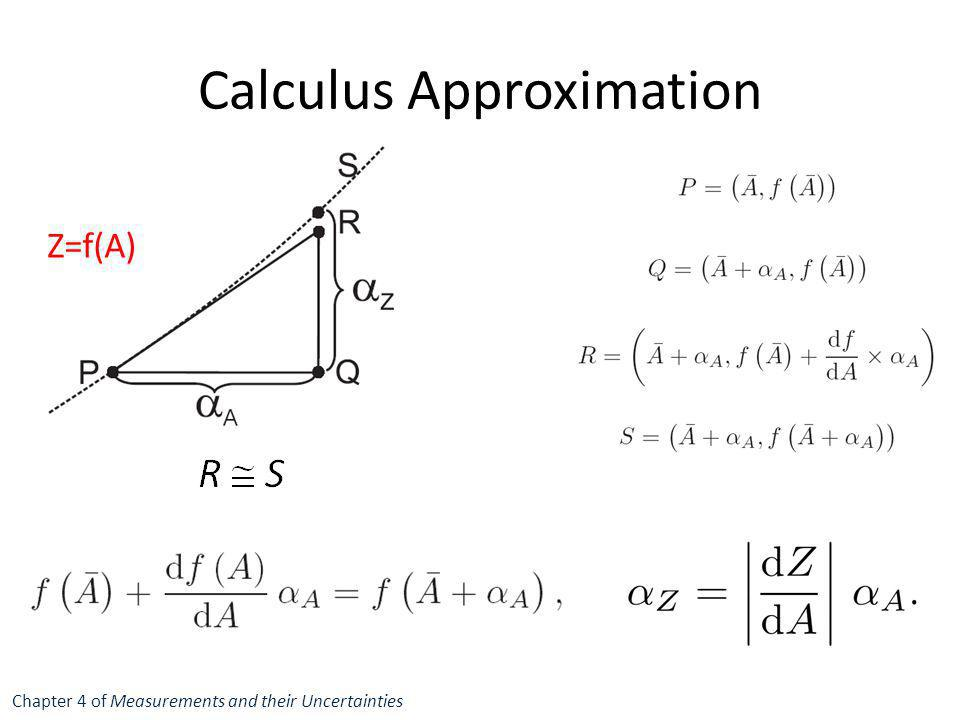 Calculus Approximation