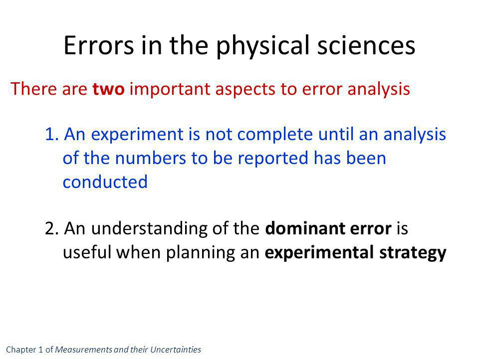 experiment 1 errors uncertainties and measurements If you want to know how to calculate uncertainty,  simply multiply the measurements while adding their relative uncertainties  the errors of your measurements.