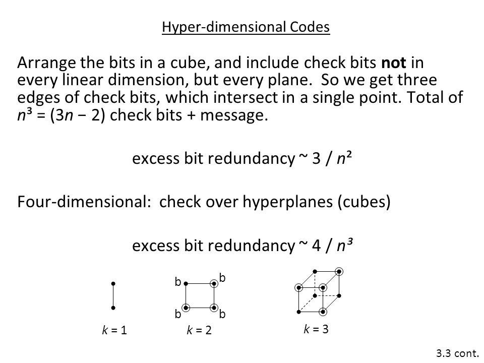 Hyper-dimensional Codes