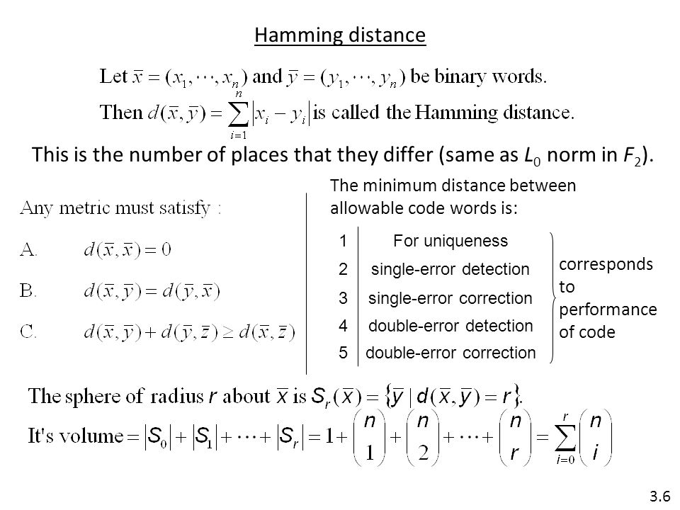 This is the number of places that they differ (same as L0 norm in F2).