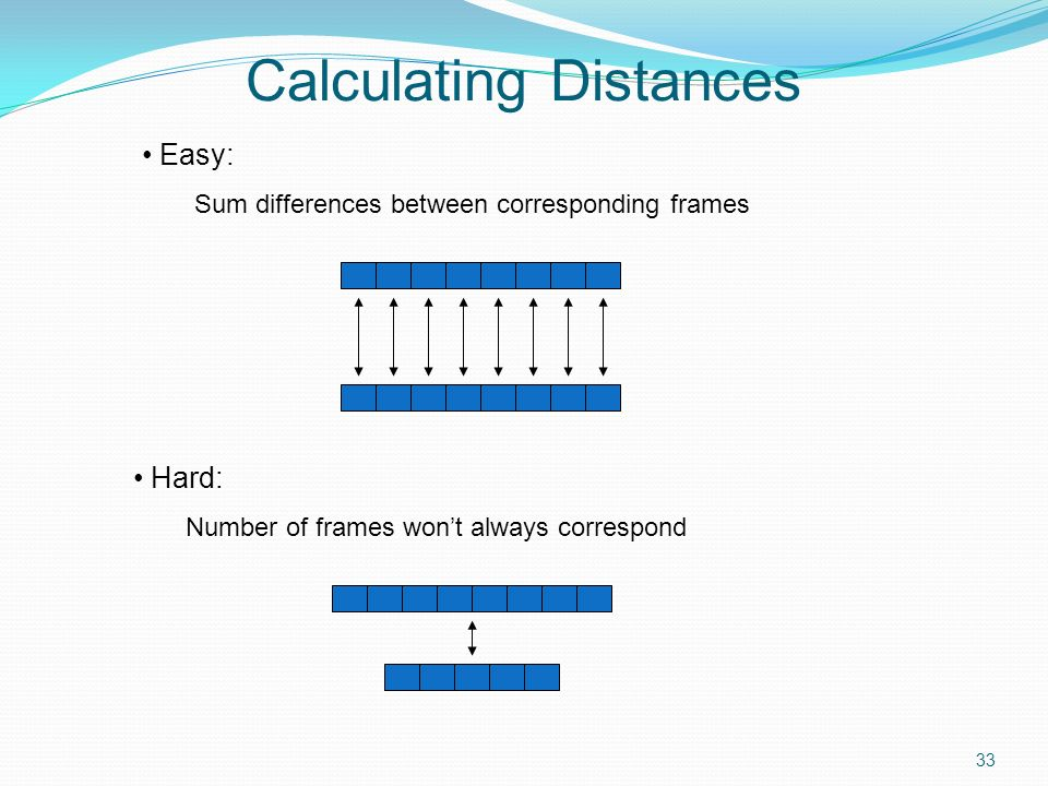 Calculating Distances