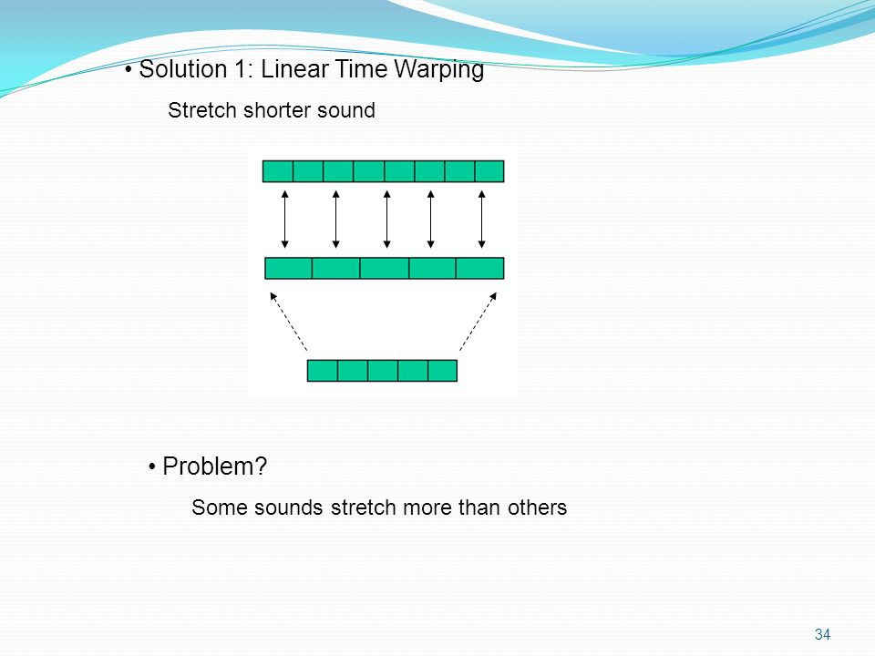 Solution 1: Linear Time Warping