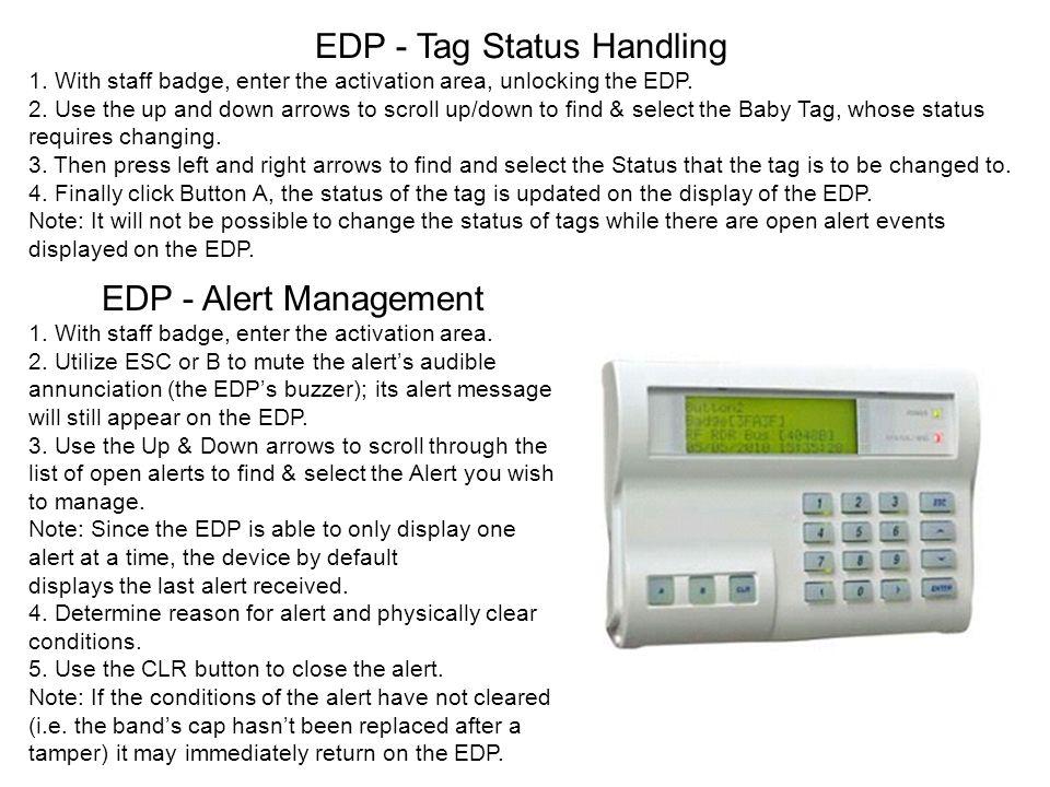 EDP - Tag Status Handling
