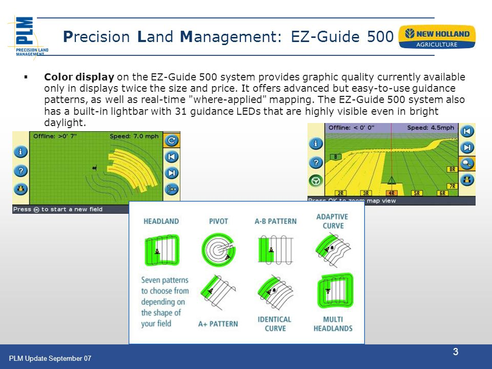 Guidance products precision land management ez guide ppt download precision land management ez guide 500 sciox Images