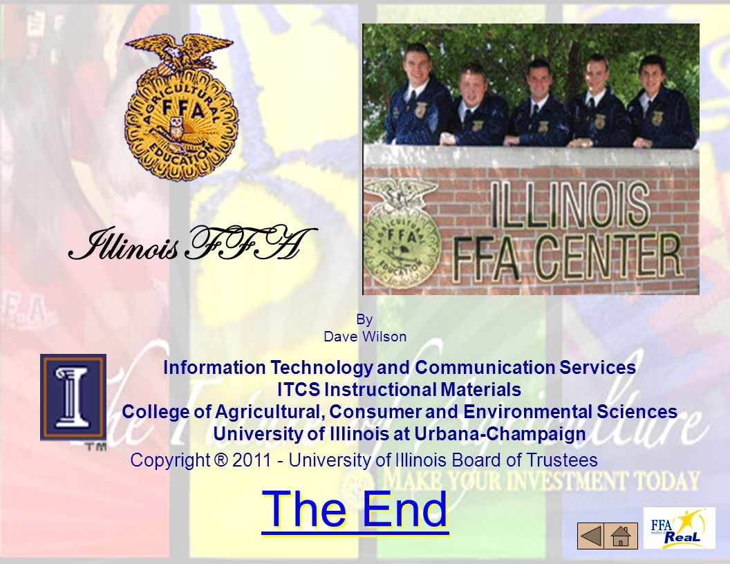 Illinois FFA The End Information Technology and Communication Services