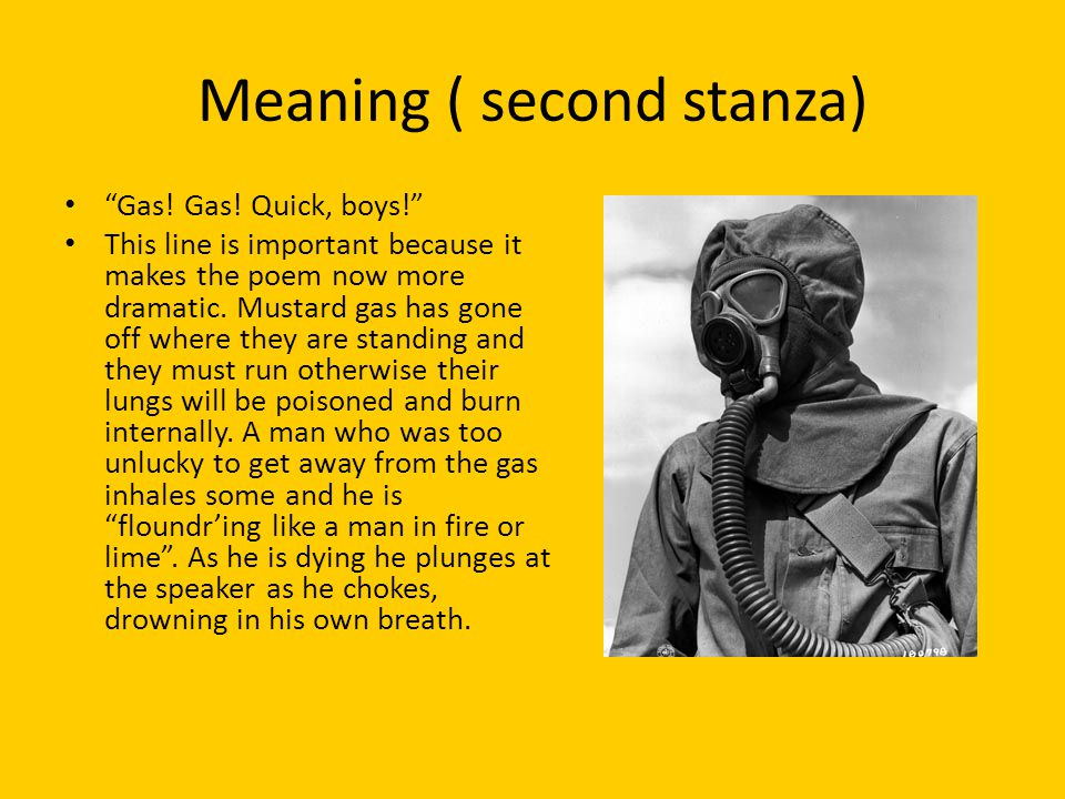 Meaning ( second stanza)