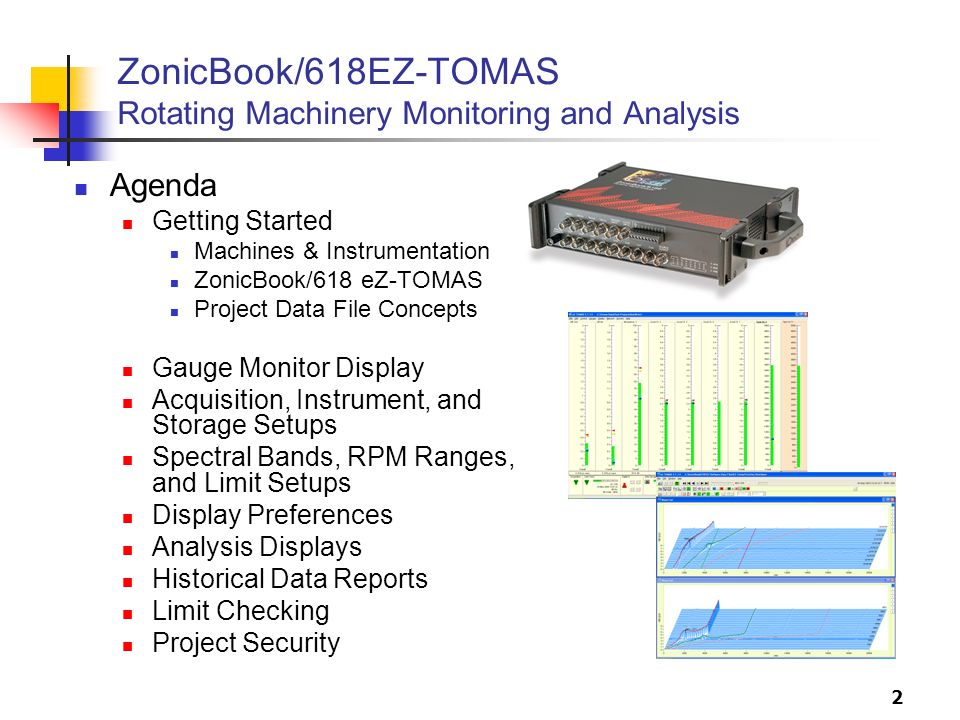 ZonicBook/618EZ-TOMAS Rotating Machinery Monitoring and Analysis