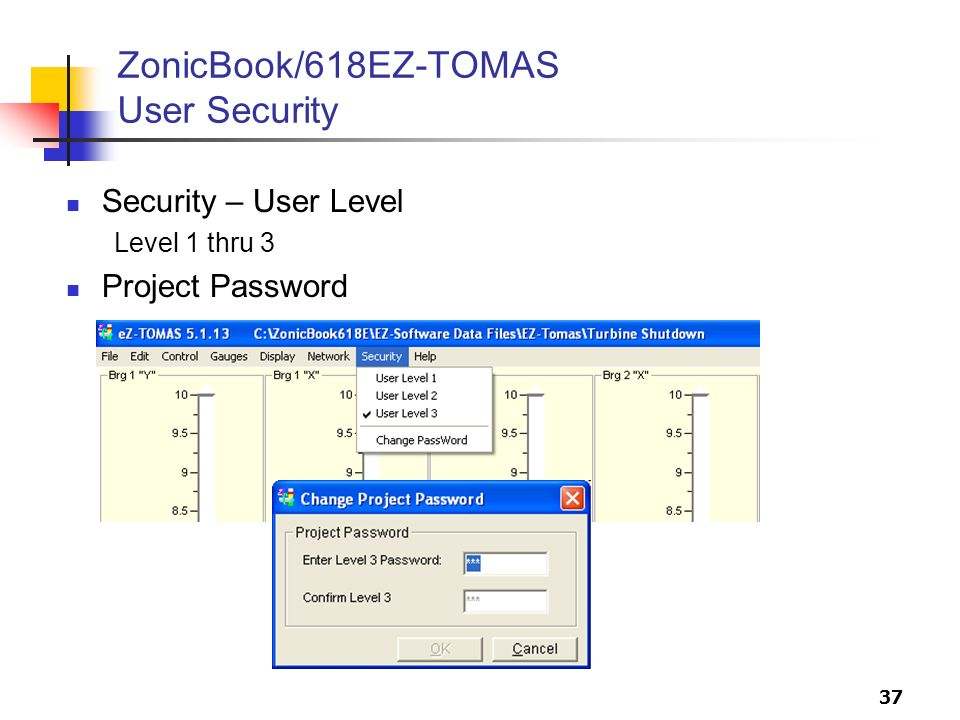 ZonicBook/618EZ-TOMAS User Security