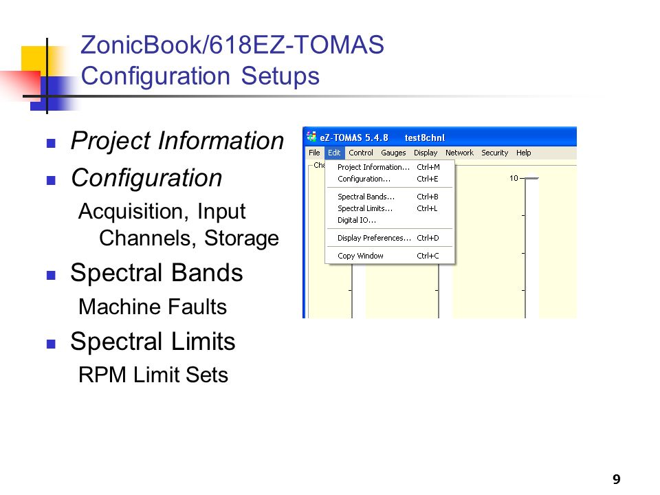 ZonicBook/618EZ-TOMAS Configuration Setups