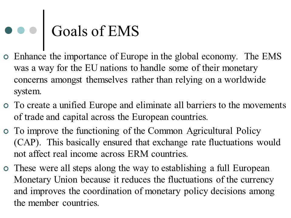 Goals of EMS