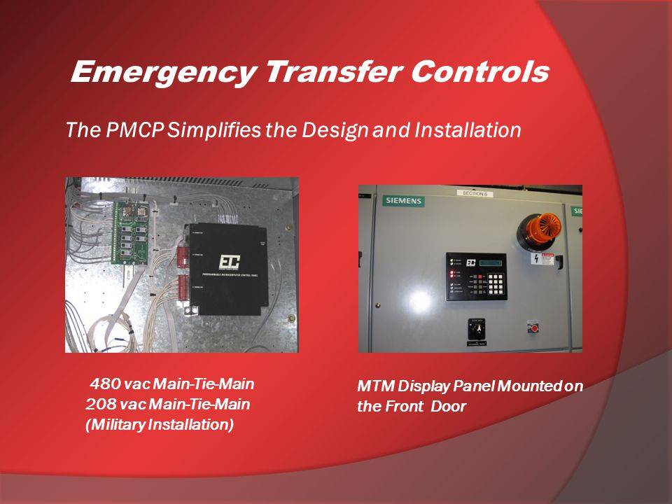 The PMCP Simplifies the Design and Installation