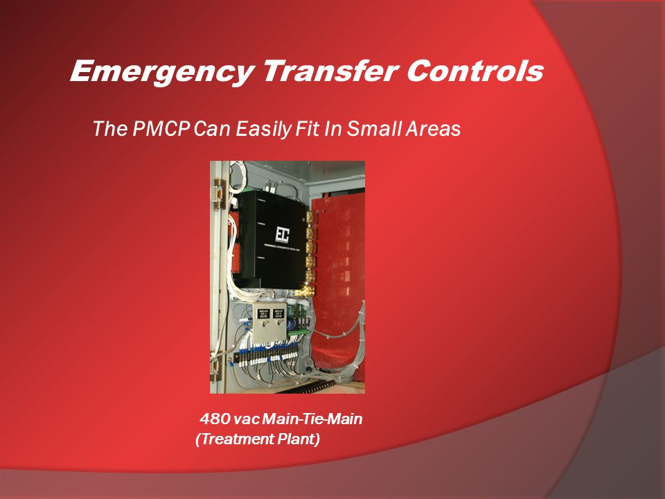 The PMCP Can Easily Fit In Small Areas