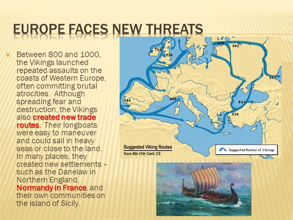 Europe Faces New Threats