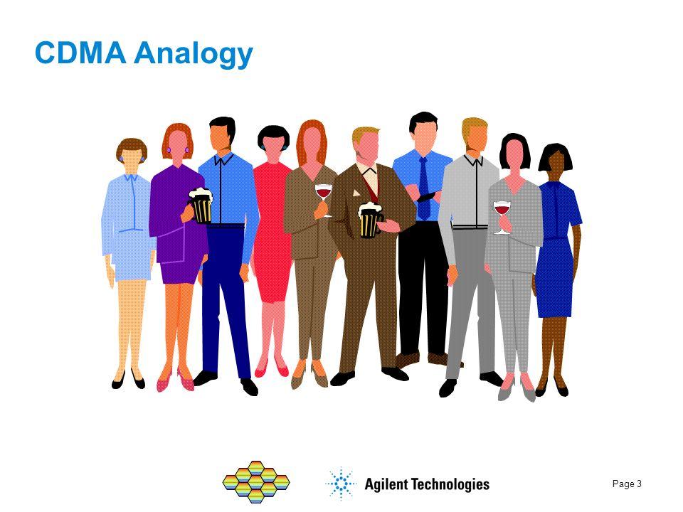 CDMA Analogy
