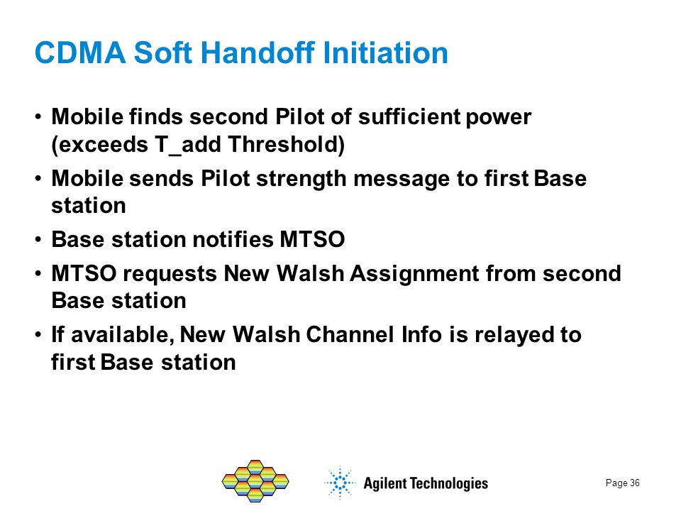 CDMA Soft Handoff Initiation