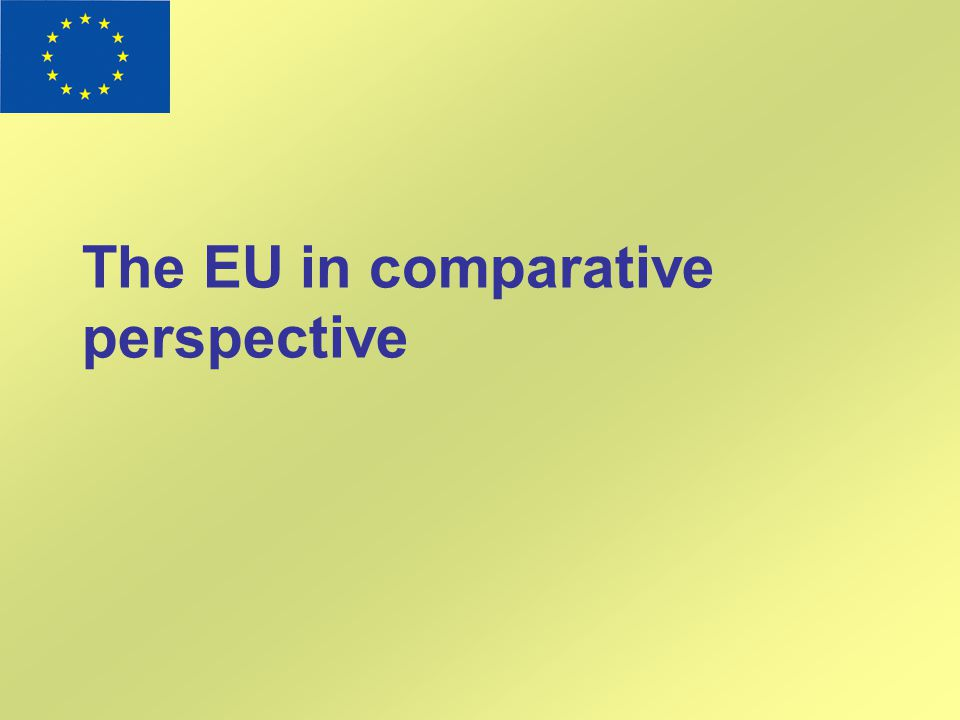 The EU in comparative perspective