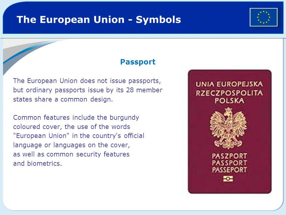 The European Union - Symbols