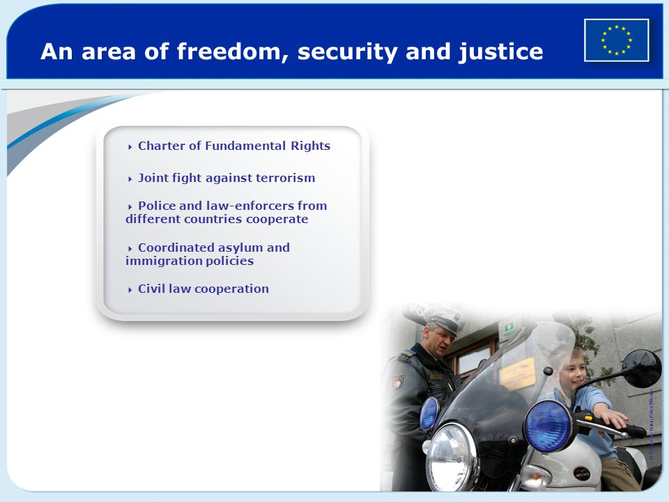 An area of freedom, security and justice