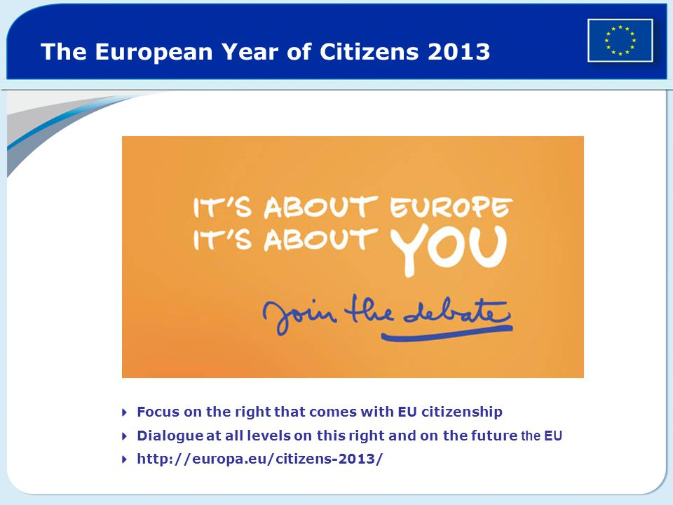 The European Year of Citizens 2013