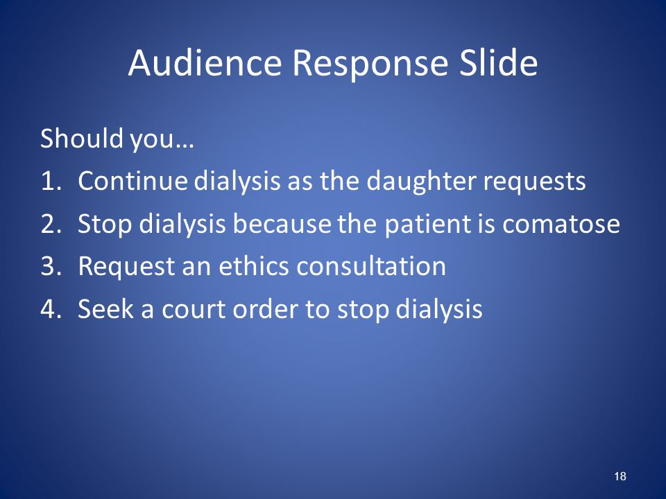 Audience Response Slide