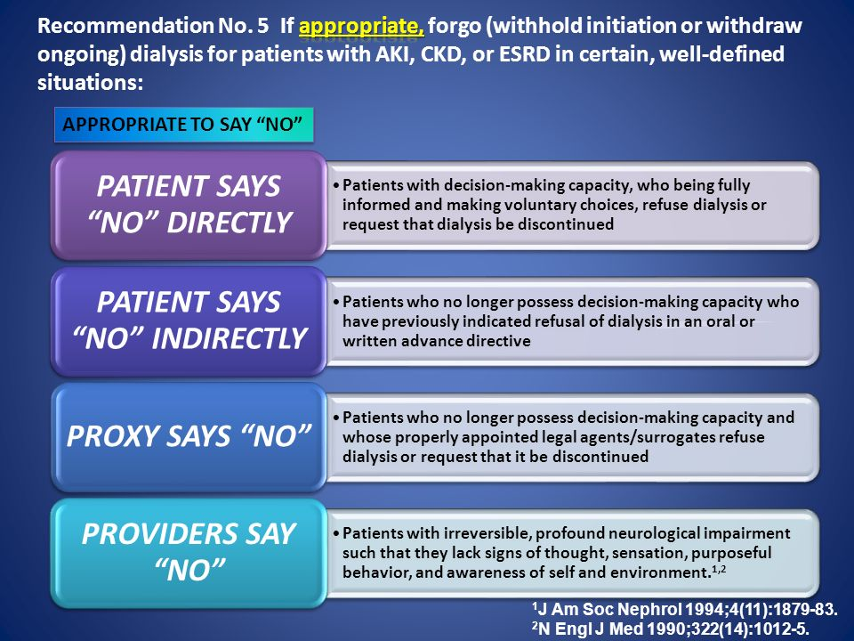 PATIENT SAYS NO DIRECTLY PATIENT SAYS NO INDIRECTLY