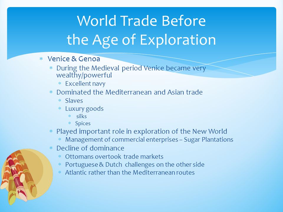 World Trade Before the Age of Exploration