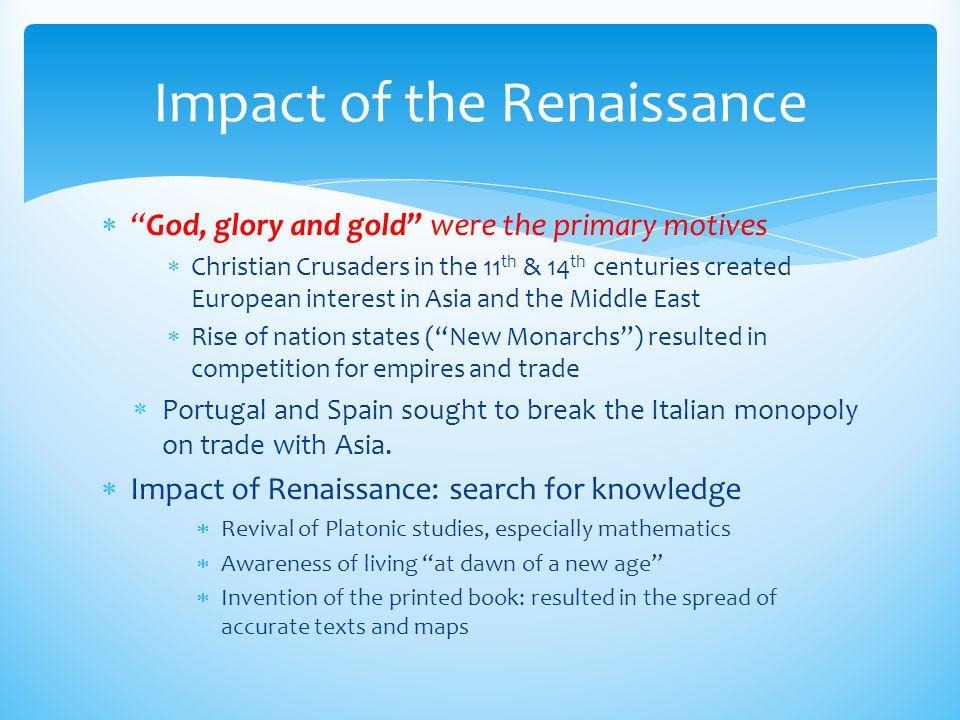 Impact of the Renaissance