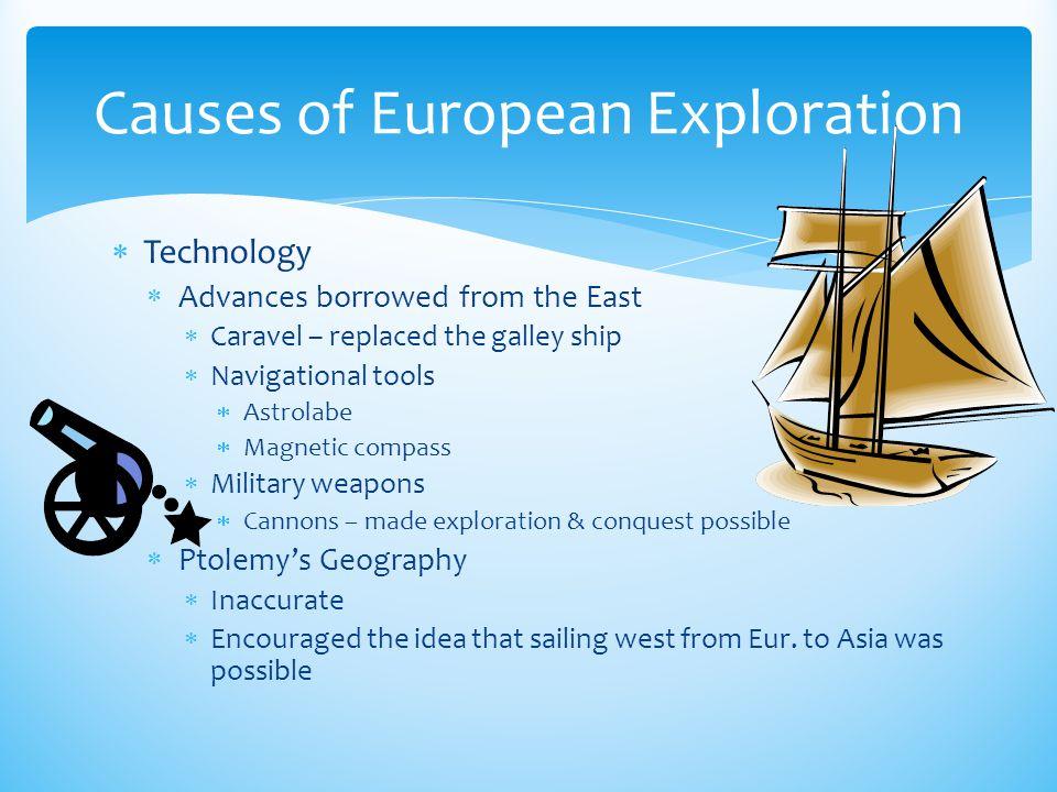Causes of European Exploration