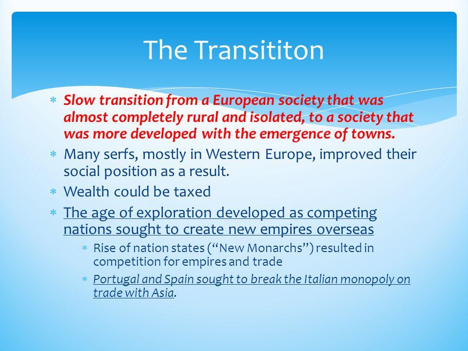 The Transititon
