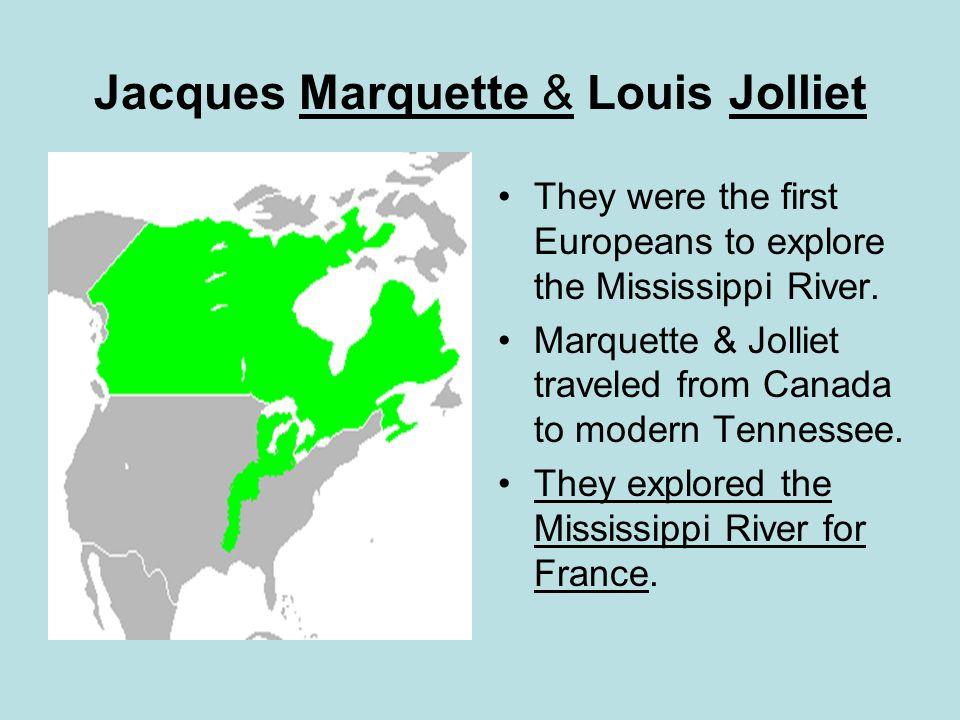 Jacques Marquette & Louis Jolliet