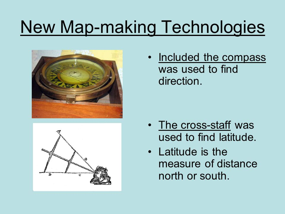 New Map-making Technologies