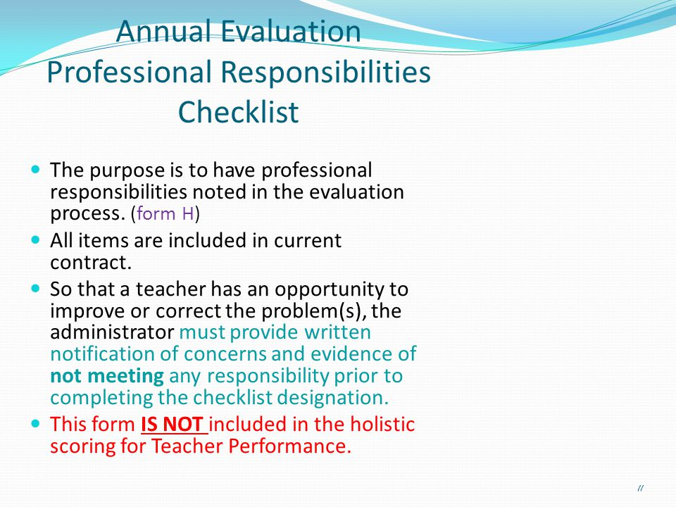 Evaluation Orientation Meeting Teacher Evaluation System  Ppt