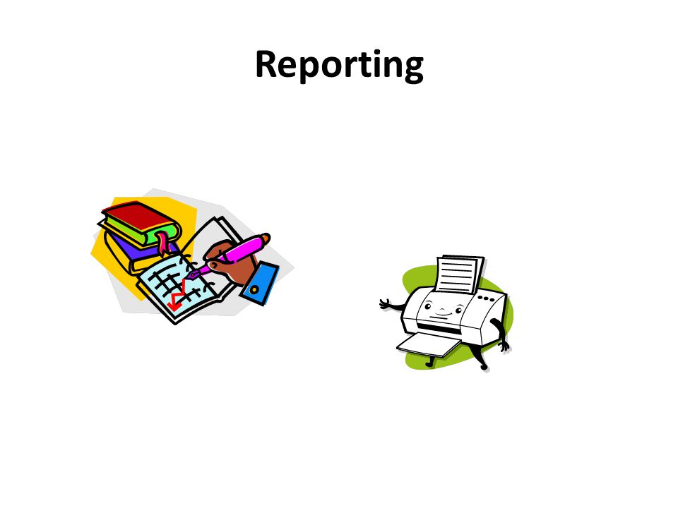 Reporting We have talked about recognizing and recording adverse events, now let's talk about reporting adverse events!