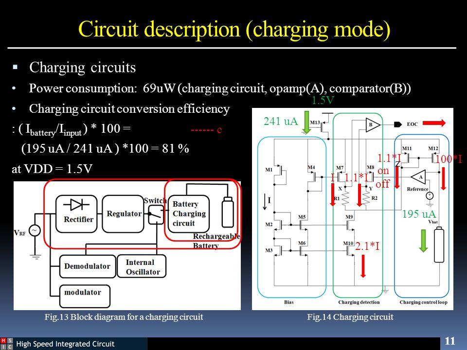 Circuit description (charging mode)