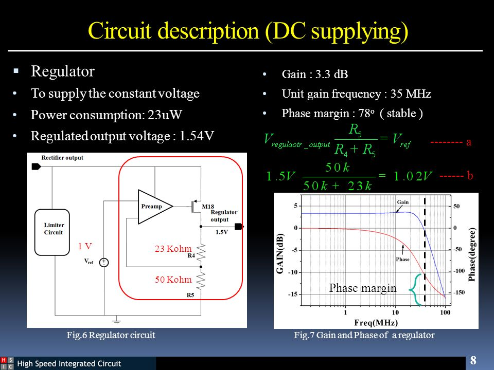 Circuit description (DC supplying)