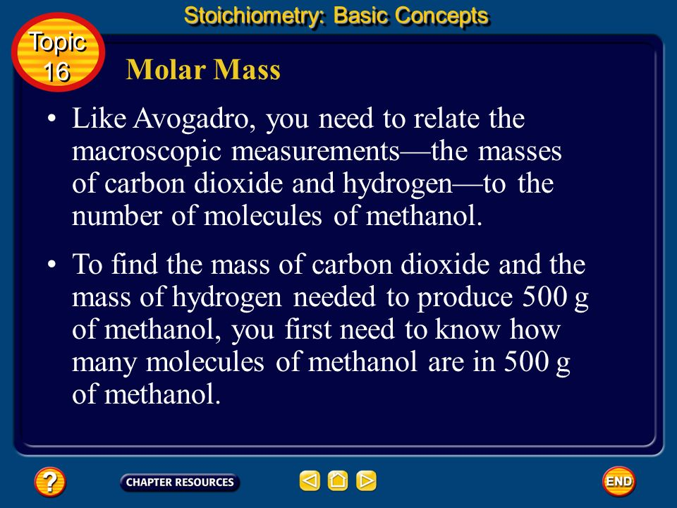Stoichiometry: Basic Concepts