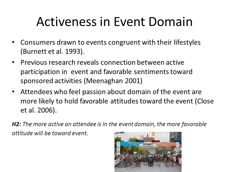 Activeness in Event Domain
