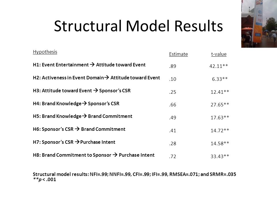 Structural Model Results