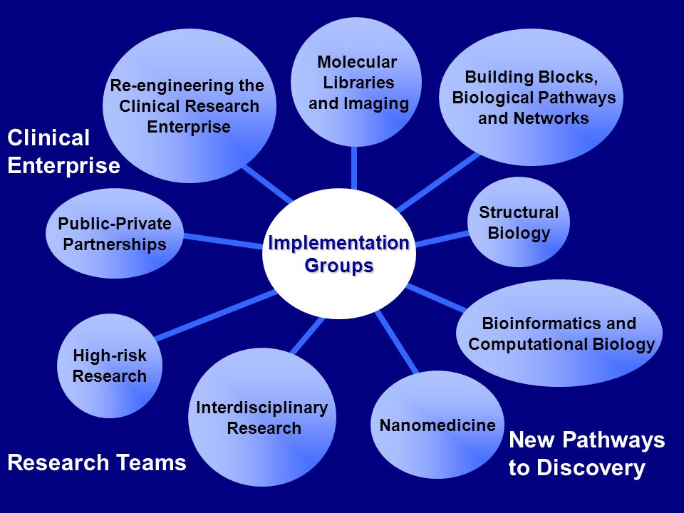Clinical Enterprise New Pathways to Discovery Research Teams